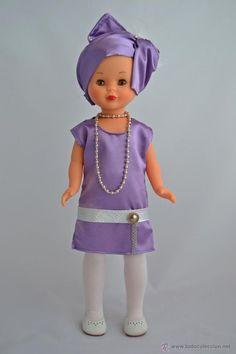 Vestido para Muñeca Nancy de Famosa. Años 20. - Foto 1:
