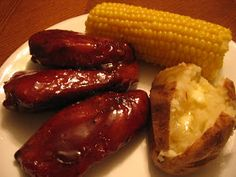 """Santa's Gift Shoppe Year~Round: How to make the """"Best Honey BBQ Ribs"""" (in the oven)"""