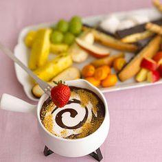 Chocolate-Peanut Butter Fondue
