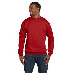 Hanes Comfortblend Ecosmart 50/50 Fleece Men's Crew-Neck Deep Sweater