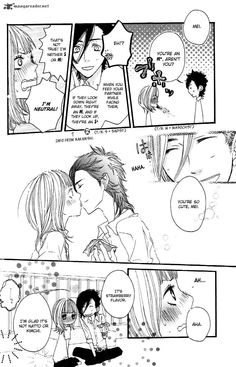 Aaawwh Yamato and Mei, such cute love! Sukitte ii na yo Best Shoujo Manga, Manga Anime, Anime Art, Yamato And Mei, Say I Love You, My Love, Best Romance Anime, Couple Cartoon, Cute Anime Couples