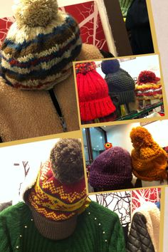 2012 F/W jessica's proposal exit 15: a number of stlylish hat ; cute, warm, and colorful... why don't you try it on??