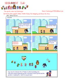 Fan comics based on the Super Mario Bros universe made for fans by fans, why not send in your own and get your own section! Mario Comics, Super Mario Bros, Fans, Life