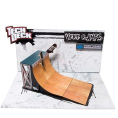 Tech Deck Vert Ramps Finger Skateboard, Mini Ramp, Tech Deck, Diy Tech, Longboarding, Skate Park, Concrete Wall, Construction, Skateboarding