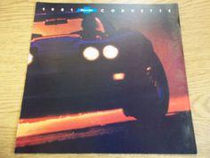 1981 Chevrolet Corvette dealer brochure