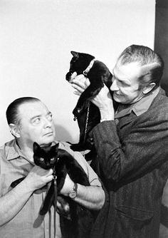 Check out these wonderful photos taken in 1961 by Ralph Crane when documenting Black Cat Auditions in Hollywood. A shot of Vincent Price suggests that this audition must have been for Tales of Terror (1962) by Roger Corman.