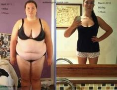 If she can lose all this weight, surely I can reduce my body fat percentage...