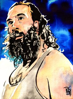 Awesome Luke Harper portrait by Rob Schamberger