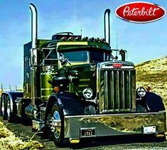 Custom Peterbilt, Peterbilt 359, Peterbilt Trucks, Show Trucks, Big Rig Trucks, Big Tractors, Rv Truck, Raider Nation, Heavy Truck