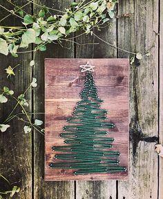 Árbol de Navidad  cadena Art  decoración de Navidad  feliz
