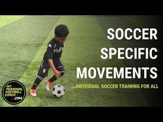 Soccer drills for all including & - Soccer Specific Movements - My Personal Football Coach Soccer Dribbling Drills, Football Training Drills, Soccer Drills For Kids, Soccer Practice, Soccer Skills, Kids Soccer, Soccer Games, Play Soccer, Soccer Tips