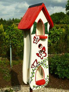 Vogelhaus, Nistkasten, Futterhaus, Vogelvillen von Vogelliebe-Shop auf DaWanda.com