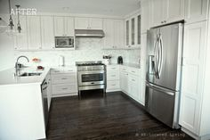 Love every part of this kitchen!  Cut out nook for toaster oven is brillant!  Interior: Kitchen Remodeled » Relocated Living