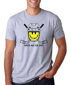 Gray 'Have an Ice Day' Tee - Men's Regular