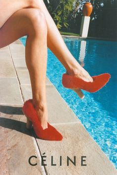 Celine shoes Spring/Summer 2013 campaign