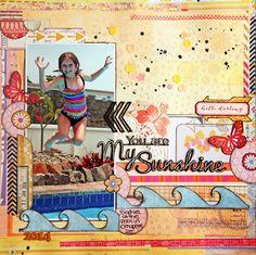 2 Crafty Chipboard : Sarah Groen's Summery Post!