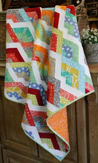 Gently Down the Stream by Christina Cameli in Best Fat Quarter Quilts 2014.