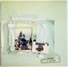 Scrapbox - Maria Asmus - Sommer