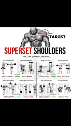 Shoulder sets
