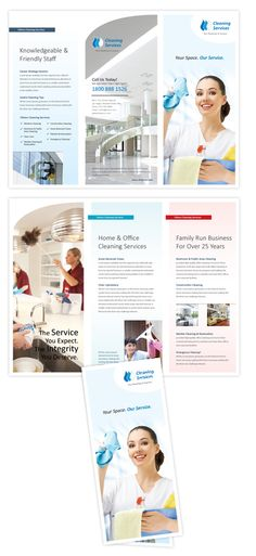 1000 images about brochure design on pinterest tri fold for Cleaning brochure templates free