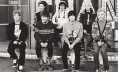 So adorable! (gif) Block B~~~~Block B, in a nutshell. (Yes, even the 'normal' one, Jaehyo, the 4D Prince of the group himself.)