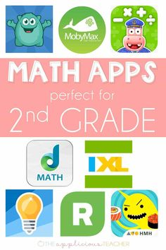 8 Math Apps that are Perfect for 2nd Grade