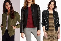 Bomber jackets are great transition pieces for fall. Go for the military vibe with the Missguided Quilted Padded Bomber Jacket, get a little rocker-chic with this Truth Of Touch Astor Leather & Wool Blend Bomber Jacket, or go light and casual with this Old Navy Patterned Bomber Jacket. http://thestir.cafemom.com/beauty_style/189206/25_musthave_pieces_for_your