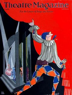 Theatre Magazine, March 1927 (Cover art by Pol Rab)
