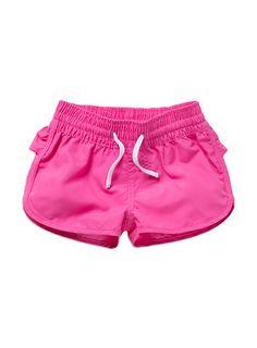 Charlie&me - girls cerise board shorts