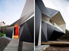 Klein Bottle Exterior Facade Architecture