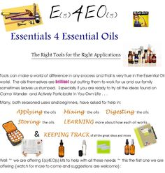 Starter Kits for Using Essential Oils most effectively