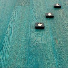 Atkinson & Kirby Concept II Ocean Turquoise Elite Engineered Floor 15mm Thick. www.woodflooringsupplies.co.uk