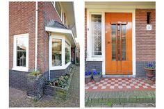 Jaren30woningen.nl | Erker en voordeur van een jaren 30 woning