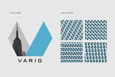 VARIG Logo Redesign by Leo Porto, via Behance