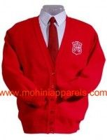 school cardigan