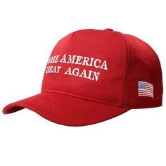 New Make America Great Again Donald Trump Campaign Hat Republican Cap Red ff7f52957148