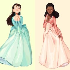 Elizabeth and Angelica Schuyler from the musical Hamilton. Sold as a 2 postcard set. - Online Store Powered by Storenvy Hamilton Fanart, Theatre Nerds, Musical Theatre, Theater, Hamilton Drawings, Comedia Musical, The Wicked The Divine, Aaron Burr, Hamilton Musical