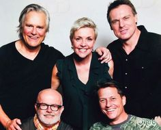 """Return to the Gate"", November 4-5, 2017, Australia. Richard Dean Anderson, Amanda Tapping, Michael Shanks, Gary Jones, Corin Nemec"