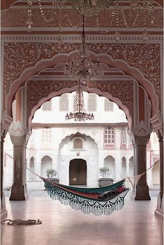 elegant moroccan interior decor | ... Hammock Ideas Moroccan Outdoor Hammock Design – Interior Design
