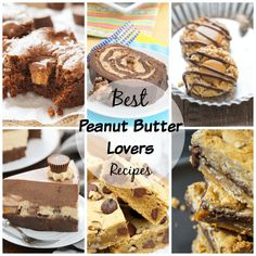 Get ready for the Best Peanut Butter Lovers Recipes in the world! If you have a love for peanut butter, these sweet & savory recipes will do the trick! Best Peanut Butter, Peanut Butter Fudge, Cookie Butter, Peanut Butter Desserts, Peanut Butter Recipes, Chocolate Chip Cookies, Die Peanuts, Chip Cookie Recipe, The Best
