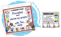 PYP Sticky Notes - what a brilliant idea! could totally put something like this on a big label sticker too! First Grade, Third Grade, Grade 3, Ib Classroom, Classroom Ideas, Ib Learner Profile, Parent Teacher Communication, Digital Story, Behaviour Management