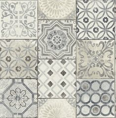 Moroccan Tile Peel-and-Stick Wallpaper in Neutrals and Greys by NextWa Kitchen Backsplash Ideas Greys Moroccan neutrals NextWa PeelandStick Tile Wallpaper Look Wallpaper, Tile Wallpaper, Peel And Stick Wallpaper, Adhesive Wallpaper, Moroccan Wallpaper, Grey Kitchen Wallpaper, Wallpaper Backsplash Kitchen, Remove Wallpaper, Bohemian Wallpaper