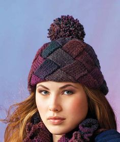 Hat in Patons Colour Works Aran: http://www.mcadirect.com/shop/patons-colour-works-aran-p-3240.html