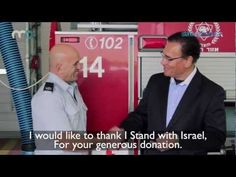 We are proud to stand with the brave firefighters of Israel!