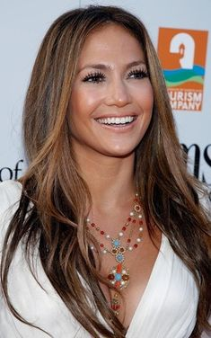 ˚Jennifer Lopez - love the hair color