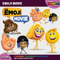 Movie Clipart, 2017 Movies, Emoji Movie, Create A Cake, Party Themes, Party Ideas, Animation Movies, Movie Party, Emoticon