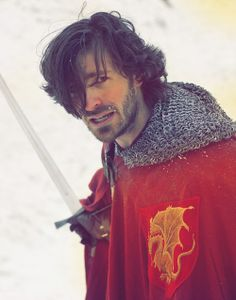"""""""Gilan in Ranger's Apprentice"""" <---- Actually, I'm pretty sure this is Sir Gwaine of Camelot. He would make a good Gilan, though... :)"""