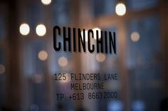 """Chin Chin is a Asian restaurant located in Melbourne. The studio Project Of Imagination designed an identity that reflect the """"tongue-in-cheek, youthful pop-culture attitude"""" of … Coca Cola Pictures, Window Signage, Graphic Projects, Wayfinding Signage, Environmental Graphics, Presentation Design, Restaurant Design, Make Me Happy, Creative Design"""