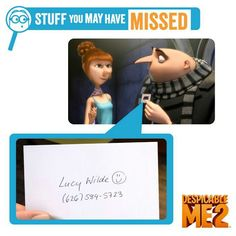 If u call lucys number it will go to her voicemail and u can leave her a message. NO WAY ILL ASK IF SHE CAN COME TO MY HOUSE WITH THE GIRLS, GRU AND ALL 10, 400 MINIONS! All this is true