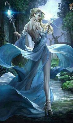 New Fantasy Art Women Dress Ideas Fantasy Warrior, Fantasy Girl, Foto Fantasy, Fantasy Witch, Fantasy Art Women, Beautiful Fantasy Art, Fantasy Kunst, Dark Fantasy Art, Fantasy Artwork